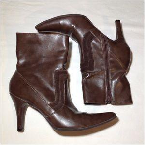 Women's Size 6.5 Merona Heeled Boots